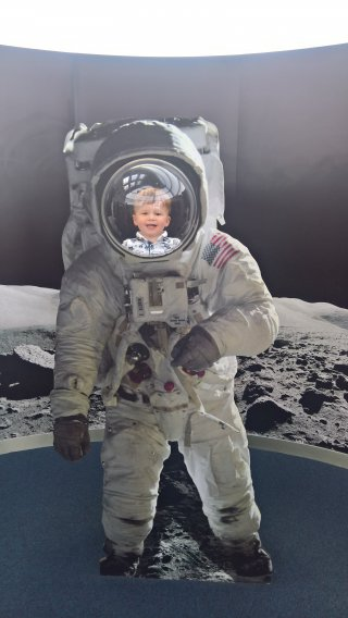 Ethan Space Man Space Center 11th Aug 2018