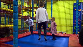 Ethan Trampoline Oadby Parklands Soft Play March 2019