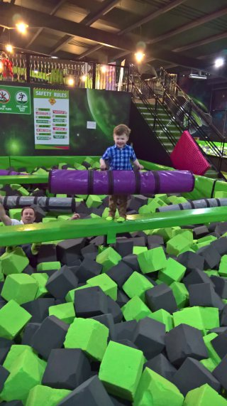 Ethan Won Flip Out Trampolining April 2019