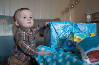 Ethans 1st Birthday November 2016 Ethan And Presents