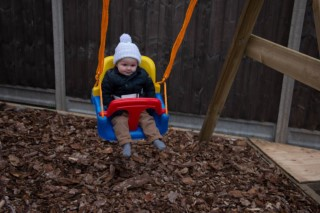 Ethans 1st Birthday November 2016 Ethan On The Swing