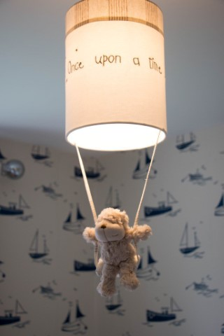 Ethans Decorated Room Harlequin Sail Away Light June 2016