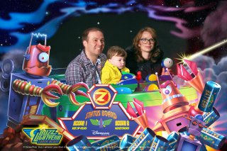 Family Buzz Lightyear Laser Blast Thursday Disneyland Paris Oct 2018