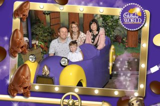 Family Car Ride Cadburys World June 2019