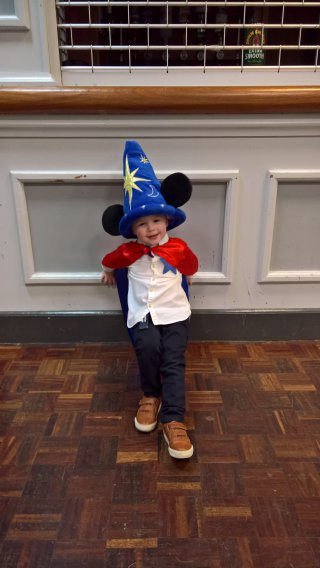Fantasia Ethan Little Movers Halloween Oct 2018