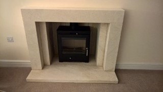 Firecraft Verve Fireplace Fitted Jan 2016