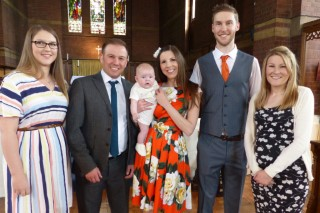 God Parents And Parents Thomas Christening May 2017