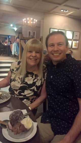 Grandma H 74th Birthday Meal Sept 2019 Grandma And I