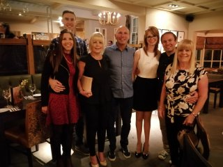 Grandma H 74th Birthday Meal Sept 2019 The Warners