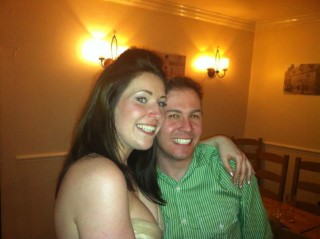 Jessica and I Her Birthday May 2012