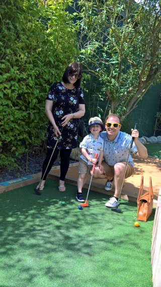 Joy Ethan And I Blaby Crazy Golf June 2019