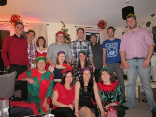 Knowland Xmas Party 2011 Group