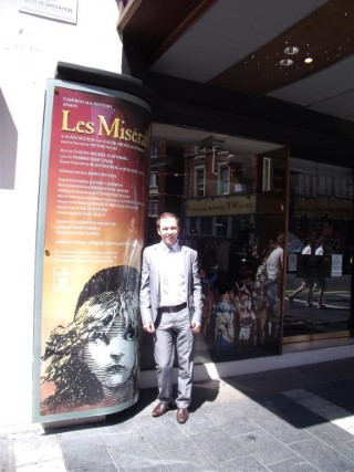 Les Miserables Me London May 2012