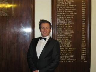 Me at Freemason Ladies Evening 2011