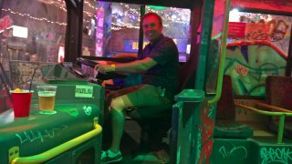 Me In A Bus Ghetto Golf Birmingham 24th June 2018