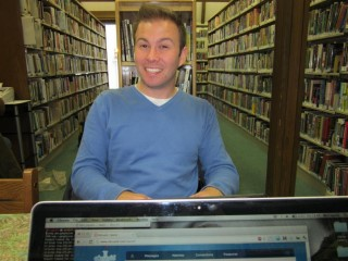 Me In Library Ketchikan Canada 2011