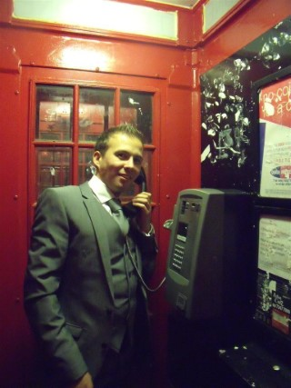 Me In Phone Box London Nov 10