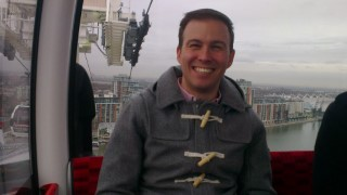 Me On Emirates Airline London Jan 2014