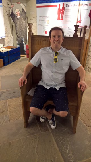 Me Throne Tamworth Castle April 2019
