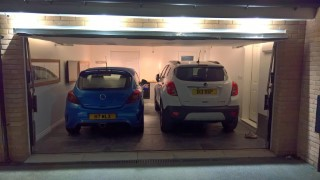 Mine And Rachels Cars In The Garage December 2017