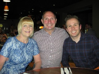 Mums Birthday April 2015 Mum Dad And I