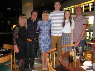 Mums Birthday April 2015 The Family