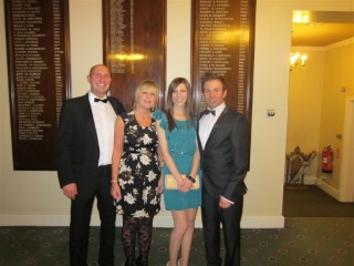 My Family at Freemason Ladies Evening 2011