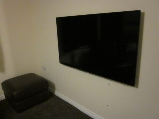 New UE55D6300 TV On Wall