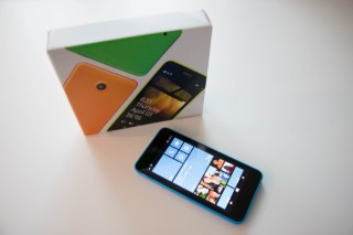 Nokia Lumia 635 May 2015 Box And Phone