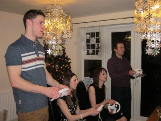 On The Wii NYE 2012