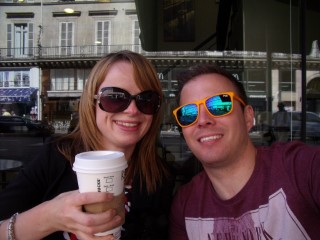 Paris Aug 2014 Rachel And I Starbucks