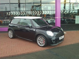 Picking Up My New Works Mini Outside