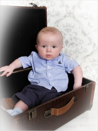 Playgroup Photos May 2016 Ethan In A Suitcase