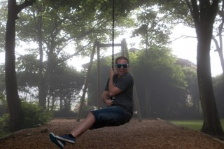 Poole Dorset Holiday June 2016 Rope Swing Me