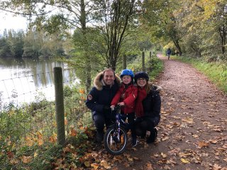 Rachel Ethan And I Ryton Pools Country Park Oct 2020