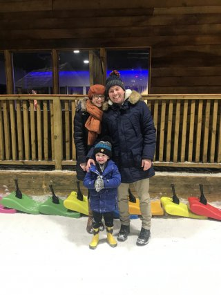 Rachel Ethan And I Tamworth Snow Dome Jan 2020
