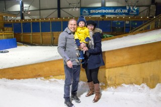 Rachel Ethan And I Tamwoth Snowdome Snow Play October 2017