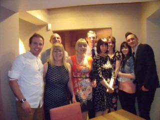 Rachels Birthday Meal 2014 The Family