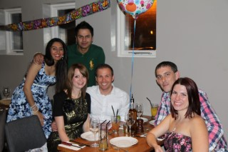 Rajs 30th Birthday May 2014 The Group