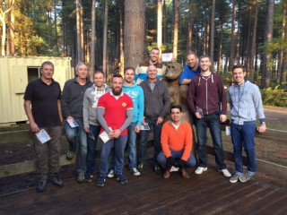 Sams Stag Do The Group October 2015