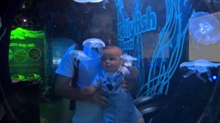 Seas Life Center July 2016 Ethan And I Jelly Fish