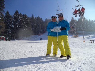 Skiing Borovets Bulgaria 2017 Dad And I Everyrun In 5 Hours