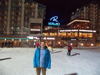 Skiing Borovets Bulgaria 2017 Me With Rila Hotel