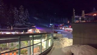 Skiing Borovets Bulgaria 2017 Our Rooms View