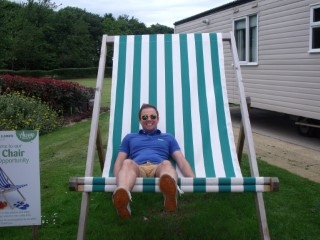 Tattershall Lakes Log Cabin May 2014 Big Chair Me