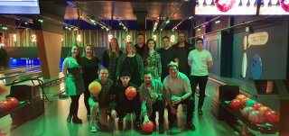 Team Bowling East Street Lanes Effect Christmas Party Dec 2019