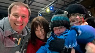The Family Tamworth Snow Dome Easter Egg Hunt April 2019