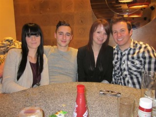 The Group Claires 25th Jan 2013