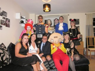 The Group Claires Fancy Dress Aug 2011