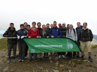The Group Top Racing The Train Snowdon Sept 2013